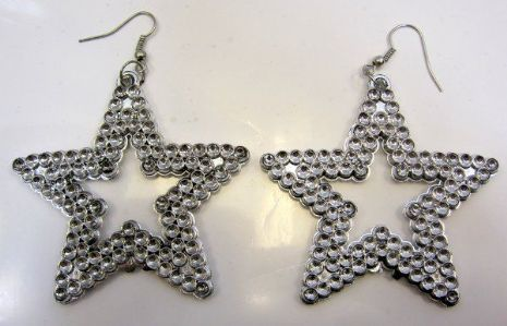 Party Fun Earrings Pair of Star Space Scifi Christmas Nativity